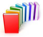 Books multicolor — Stock Photo