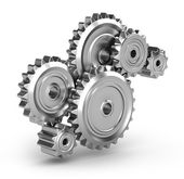 Perpetuum mobile : Gears — Stock Photo