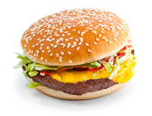 Cheeseburger — Stock Photo