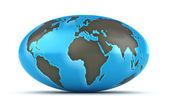 Blauer planet — Stockfoto