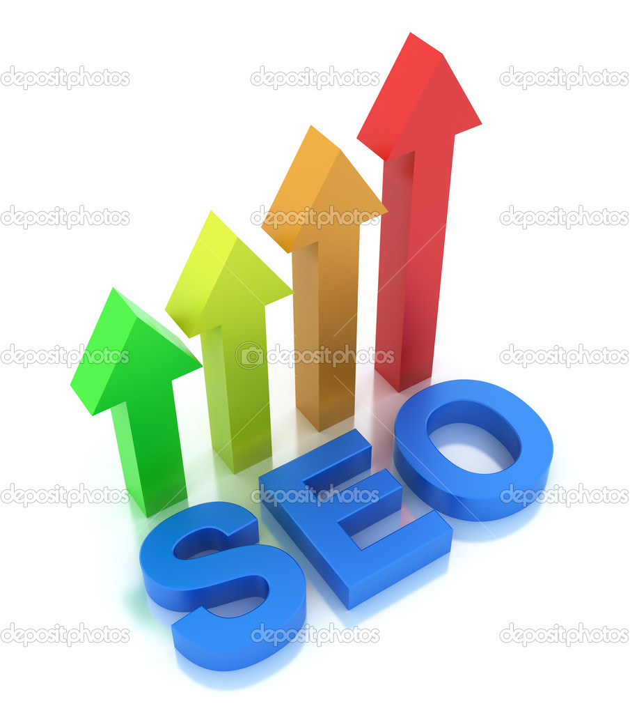 SEO - Search Engine Optimization is growing — Stock Photo #7243328