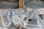 Faith fishing net — Stock Photo