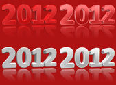 2012 Numbers — Stock Photo