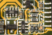 Printed Circuit Board Elements — Stock Photo