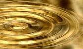 Ripples In Liquid Gold — Stock Photo