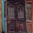 Old wooden door — Stockfoto #7760454