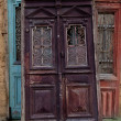 图库照片: Old wooden door