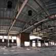 Stock Photo: Abandoned plant interior