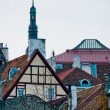 Stock Photo: Scandinavihouses and spires
