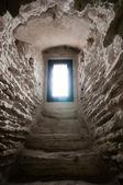 Window in castle — Stock Photo