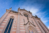 The duomo of Valvasone — Stock Photo