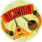 Постер, плакат: Русские народные музыкальные инструменты