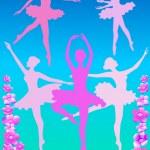 Постер, плакат: Розовые балерины