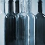 Flasche altglas pfand wein recycling getränk einwegflasche — Stock Photo