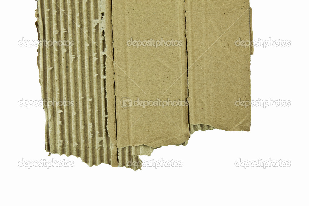 Altpapier Kartong zerissen — Stock Photo #7702837