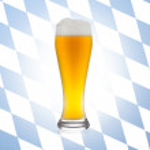 Weizenbierglas tropfen bier Oktoberfest Bayern Alkohol — Stock Photo