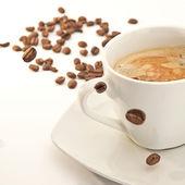 Kaffeetasse trinken Cafe koffein tasse aroma — Stock Photo