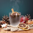 Royalty-Free Stock Photo: Wein glühwein weihnachtsmarkt advent Adventszeit zimt