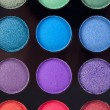 Pinsel puder palette kosmetikerin make up schminken - Stock Photo