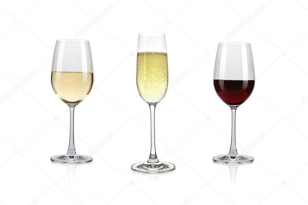 weisswein rotwein und sekt mit glas stockfoto rclassenlayouts 7882274. Black Bedroom Furniture Sets. Home Design Ideas