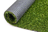Gras kunstrasen rasen fussball golf teppich textur wiese gerollt — Stock Photo