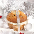 Christmas muffin — Stock Photo #7664626
