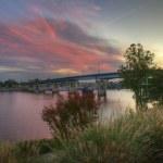 River Sunrise — Stock Photo #7253584