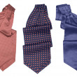 Three color tie — Stock Photo