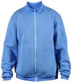 Blue sport jacket — Stock Photo