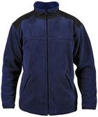 蓝色羊毛外套 — 图库照片