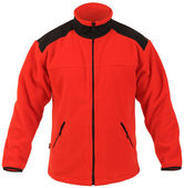 Red fleece jacket — Stock Photo