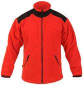 Red fleece jacket — Stock Photo