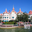 Stock Photo: Disneyland Resort Paris maingate, Disneyland Paris, August, 01, 20