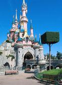 Sleeping Beauty Castle in Disneyland Paris, Disneyland Paris, August, 01, 2 — Stock Photo