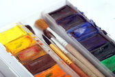 A pack of watercolour paint — Stock Photo