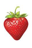 Fresas. vector ilustración de un realista — Vector de stock