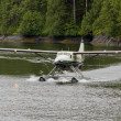 Seaplane on Water. — Stock Photo