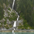 Stock Photo: Waterfall in Misty Fjords