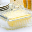 Butter dish — Stock Photo