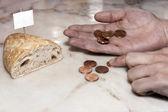Poverty Bread — Stock Photo