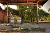 Abandoned Gas Station — Stock Photo