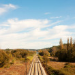 Railway Landscape — Stock Photo