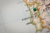 Portugal Map — Stock Photo