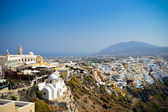 Slopes of Santorini — Stock Photo
