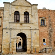 Stock Photo: Entrance gate of monastery