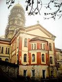 在新的 athos 修道院 — 图库照片