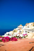 Kinds of snow-white Santorini — Stock Photo