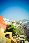 Slopes of island Santorini 2 — Stock Photo