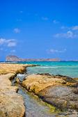 Island Gramvusa — Stock Photo