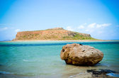 Kinds of a bay of Balos — Stock Photo